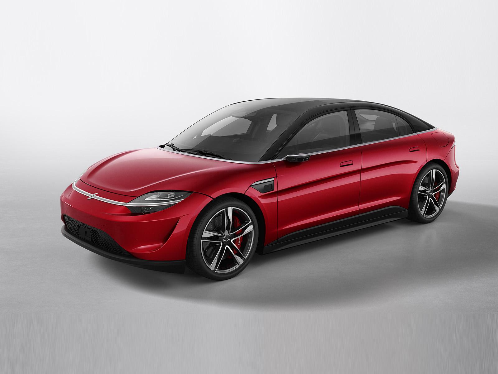 2020款索尼Vision-S概念车