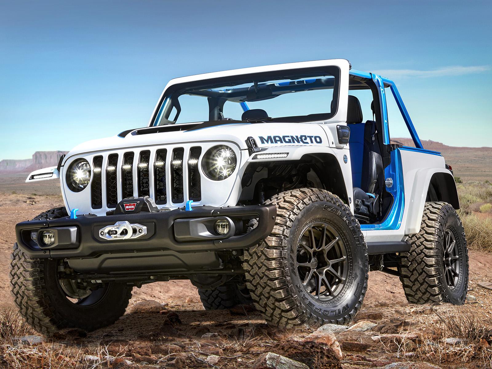 2021款Jeep Magneto概念车
