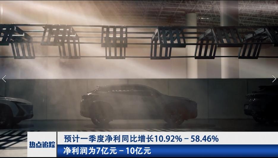长安汽车:预计一季度净利同比增长10.92%–58.46%
