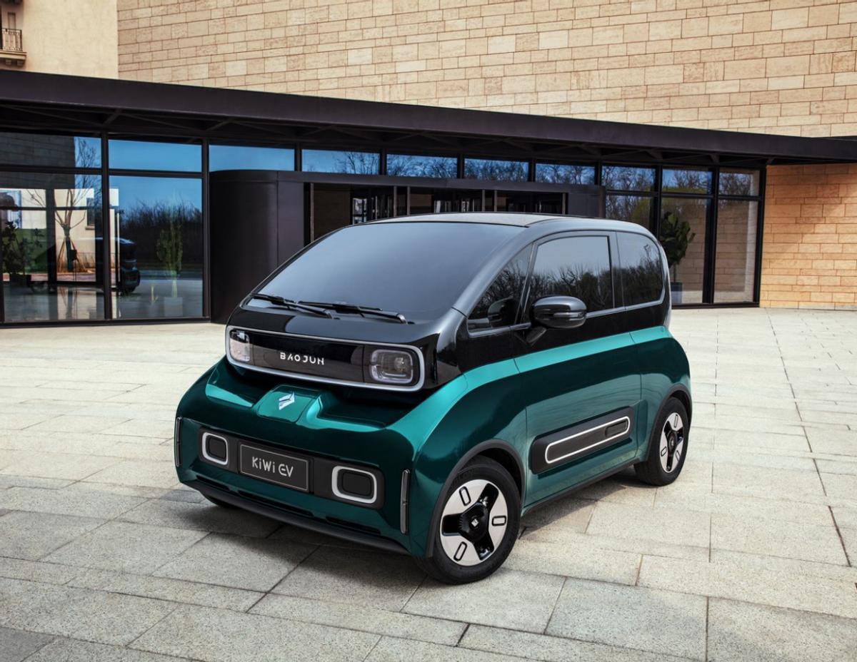 宏光MINI升级版 最低6.98万 宝骏KiWi EV正式上市