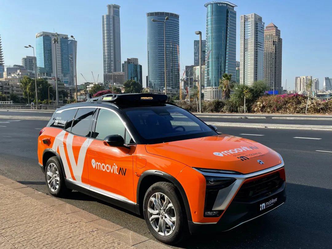 ES8入选 英特尔宣布明年推出自动驾驶出租车服务