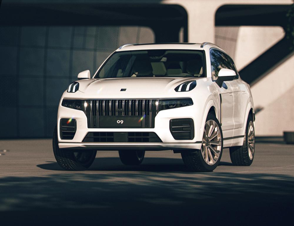 预售价格27万起 领克全新SUV车型领克09正式下线