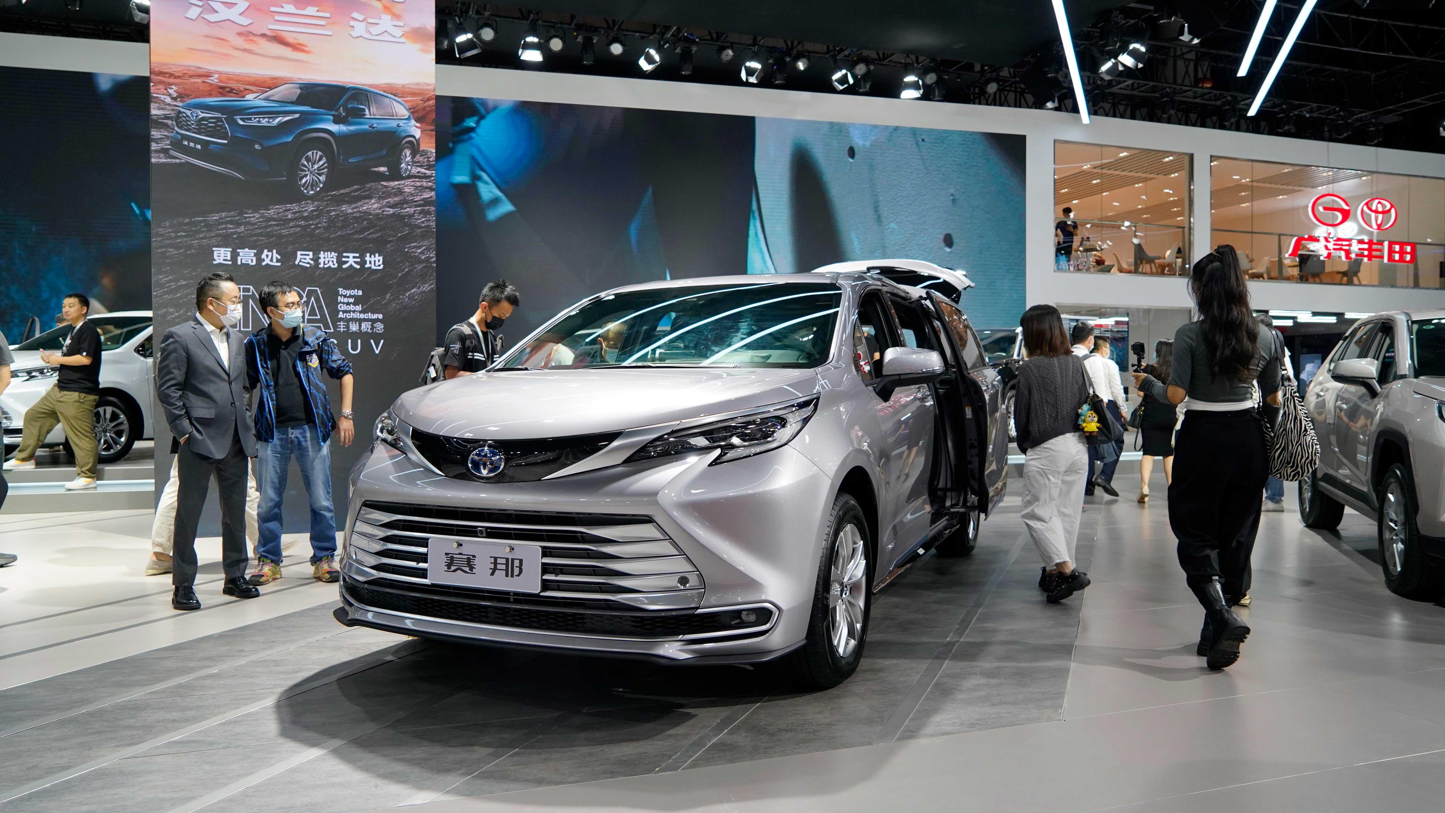 32万起 广汽丰田国产版赛那正式开启预售